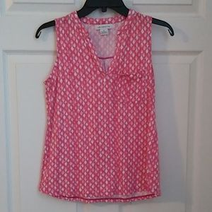 Liz Claiborne Sleeveless Top, Size S